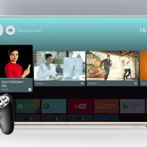 t l viseur iris uhd 4k android tv g6 43 49 55 et 65 pouces. Black Bedroom Furniture Sets. Home Design Ideas