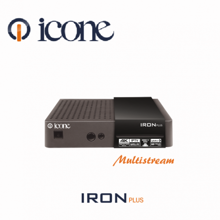 ICONE IRON Plus 4K 2018 IPTV  مواصفات ALGERIE