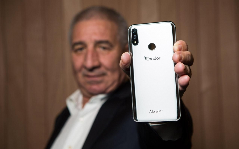Groupe Condor algerie smartphone Allure
