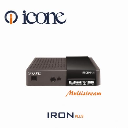 ICONE IRON Plus 4K 2018 IPTV  مواصفات ALGERIE